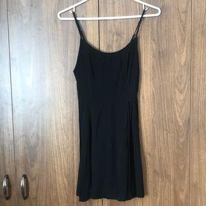 Forever 21 Strappy Back Black Dress